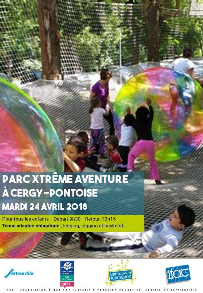 Sortie parc Xtrem aventure