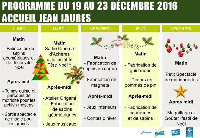 Activités Noël 2016